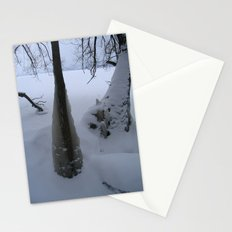 blanket of ice Stationery Cards