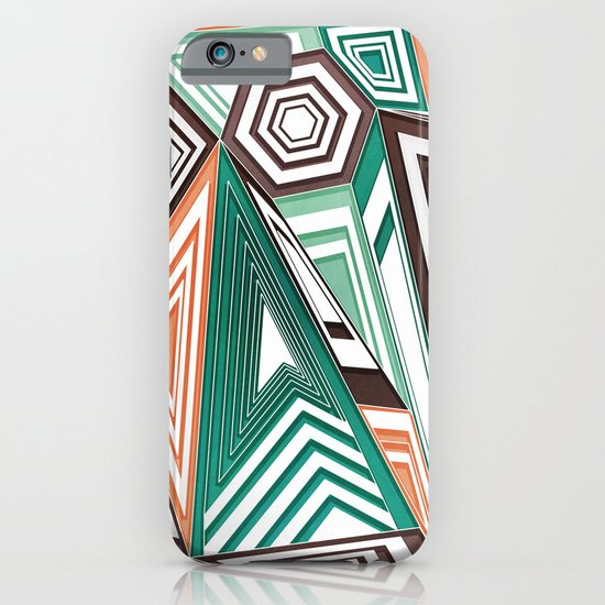Funky in the Middle iPhone & iPod Case
