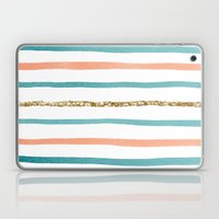 Sparkle Stripe Laptop & iPad Skin