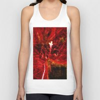 Astral flower Unisex Tank Top