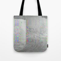 04-24-14 (Pink Cloud Bitmap Glitch) Tote Bag