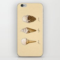 Ice Cream Cones iPhone & iPod Skin