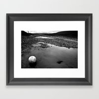 The Beautiful Game Framed Art Print