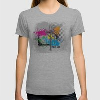 That's Cool Womens Fitted Tee Athletic Grey SMALL