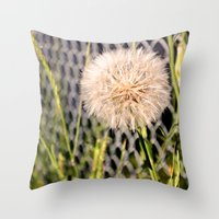 Oversized Puff - Ready T… Throw Pillow