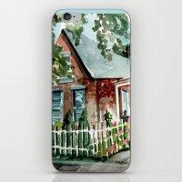 German Village House In … iPhone & iPod Skin