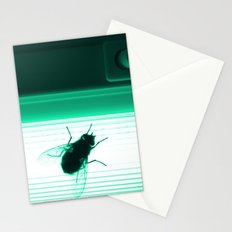 Neon Fly Stationery Cards