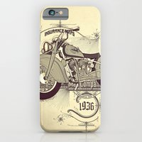 iPhone & iPod Case featuring 1936 indian by dvdesign