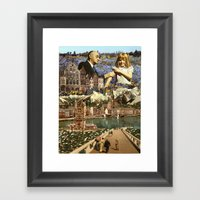 Dollhouse (Collage) Framed Art Print