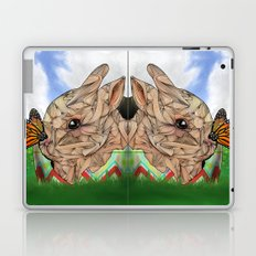 Bunny and Butterfly Laptop & iPad Skin