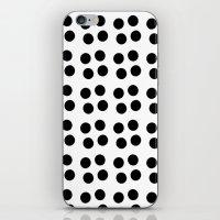 Copijn Black & White Dot… iPhone & iPod Skin