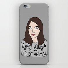April Ludgate is my spirit animal iPhone & iPod Skin