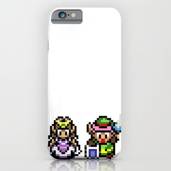 Zelda and Link iPhone & iPod Case