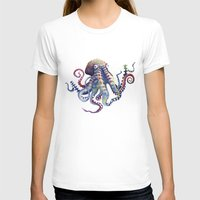 octopus T-shirts featuring Octopus by Sam Nagel