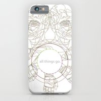 iPhone & iPod Case featuring All Things Go. 3-D by beardasaurus