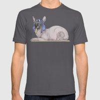 Sphynx Cat (space Bg) Mens Fitted Tee Asphalt SMALL