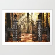 Forest Of Dreams....come… Art Print