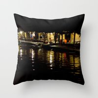 ...and Busy Nights Throw Pillow