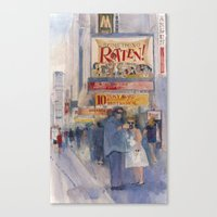 Something Rotten - Broad… Canvas Print