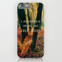 iPhone & iPod Case featuring I Am Happiest Among the Tall Trees by Olivia Joy StClaire