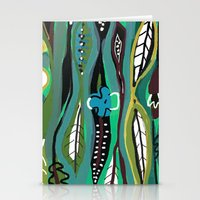 Stationery Card featuring Rainforest by Pink Pagoda Studio / Barbara Perrine Chu