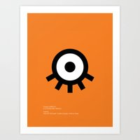 A Clockwork Art Print