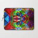 Sir Parker the Chromatic Cat Laptop Sleeve