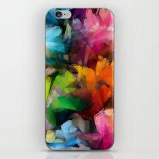 Dancing Rainbow Feathers iPhone & iPod Skin