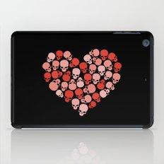 SKULL HEART FOR VALENTINE'S DAY iPad Case
