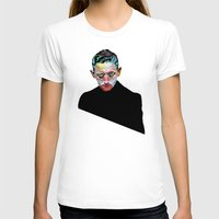 mugshots 02 Womens Fitted Tee White SMALL