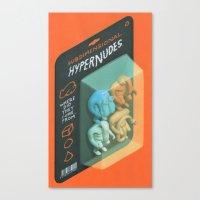 Subdimensional Hypernude… Canvas Print