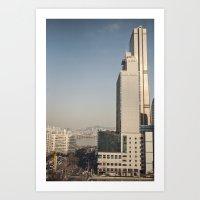 River Tower - Yeouido - … Art Print