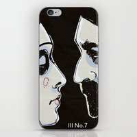 Two People iPhone & iPod Skin