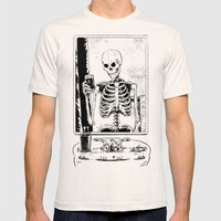 Skelfie Mens Fitted Tee Natural SMALL