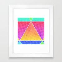 tri-double Framed Art Print