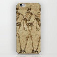 walking skeleton beauties iPhone & iPod Skin