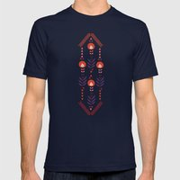 Flora Nativa Mens Fitted Tee Navy SMALL