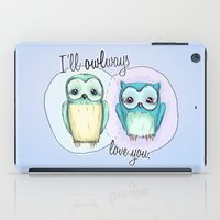owls iPad Case