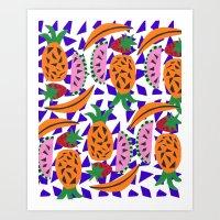 Fruit Party IV Art Print
