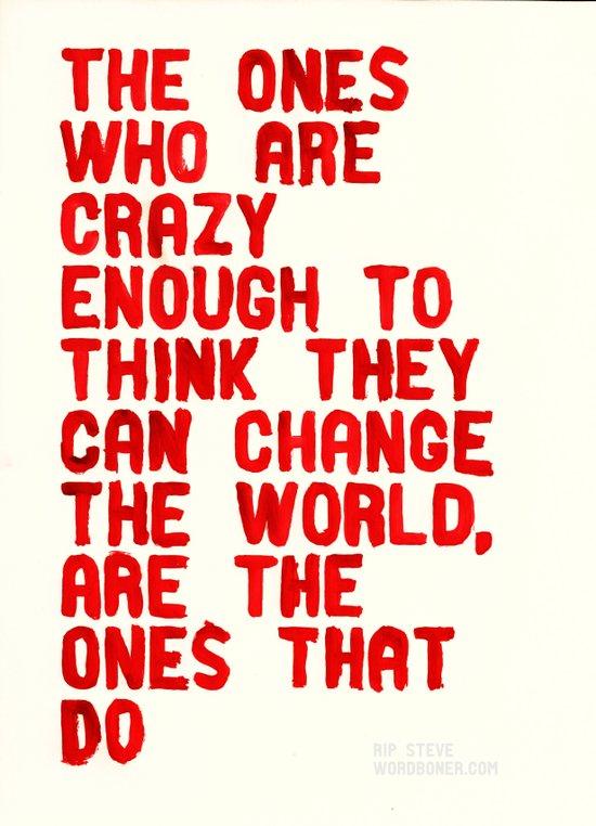 The Crazy Ones Canvas Print