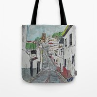 Calle En Ardales Tote Bag