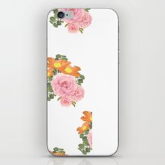 Summer Floral Print iPhone & iPod Skin