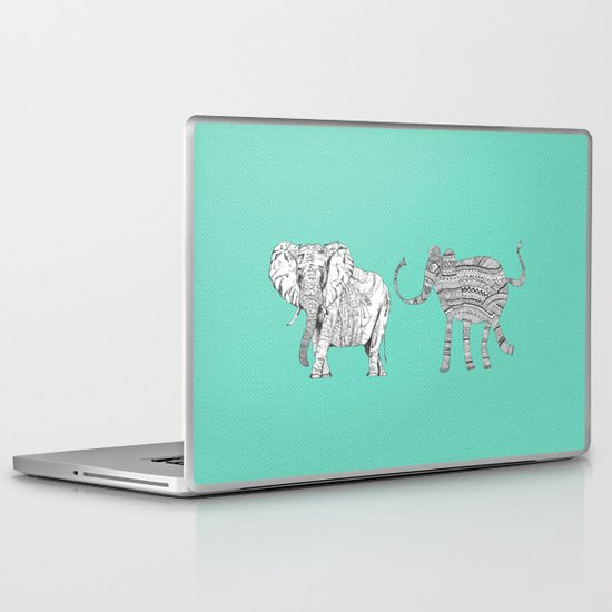two ways to see one elephant Laptop & iPad Skin