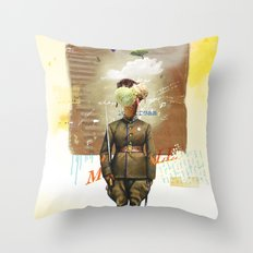 I Scream Throw Pillow