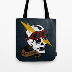 Outlaw Traditional Tattoo Design Tote Bag