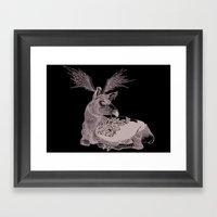 Cerf Volant Framed Art Print