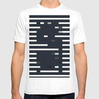 Bug Mens Fitted Tee White SMALL
