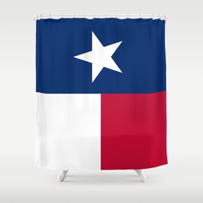 State Flag Of Texas Vertical Authentic Version Shower Curtain By Bruce Stanfield Society6