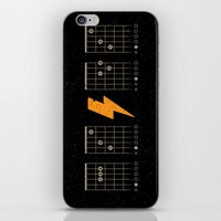 ACDC Back In Black iPhone & iPod Skin
