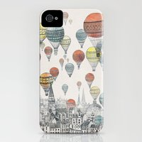 iPhone 4 Case featuring Voyages over Edinburgh by David Fleck